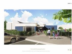 Geladener Wettbewerb Kindergarten Deutsch-Wagram 2.Rang | 2019-Bildquelle: © Arch.Urban | Seehofer u.Partner ZT KG